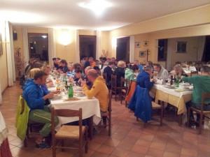 Clubausflug 2014 Abendessen