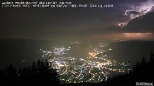 Nacht Gewitter Webcam